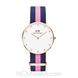 Đồng Hồ DW Classy Winchester 34mm Rose Gold DW00100077 (0952DW)