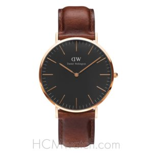 Đồng Hồ DW Classic Black St. Mawes 40mm DW00100124 - Rose Gold