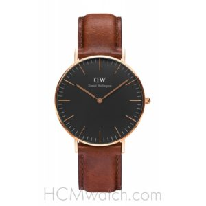 Đồng Hồ DW Classic Black St. Mawes 36mm DW00100136 - Rose Gold