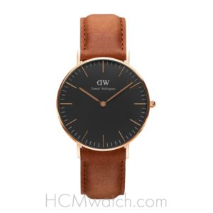Đồng Hồ DW Classic Black Durham 36mm DW00100138 - Rose Gold