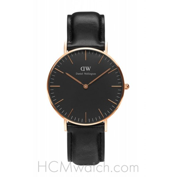 Đồng Hồ DW Classic Black Sheffield 36mm DW00100139 – Rose Gold
