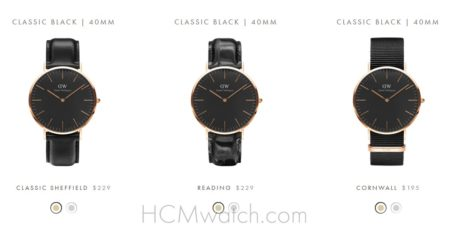 Daniel Wellington Classic Black chinh hang Ha Noi
