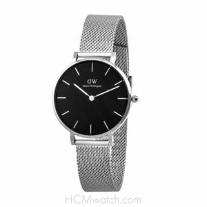 Đồng Hồ DW Classic Petite Sterling Black 32mm DW00100162 - Silver