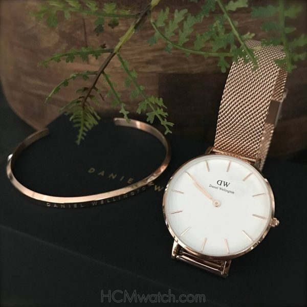 DW Classic Petite Melrose Rose Gold DW00100163 (2)