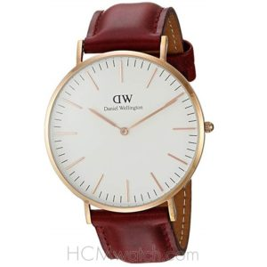Đồng Hồ DW Classic Suffolk 40mm Rose Gold DW00100120